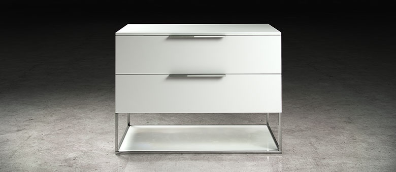 Branded night tables that come with drawers