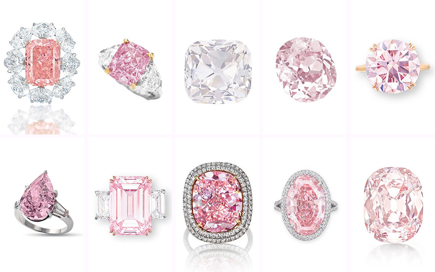 pink diamonds for sale