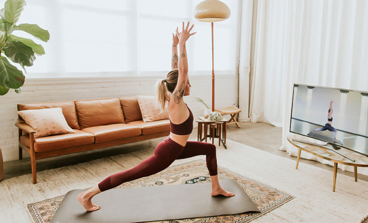 Conquer Stress and Depression with Online Yoga