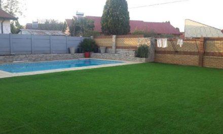 Use of set up artificial grass